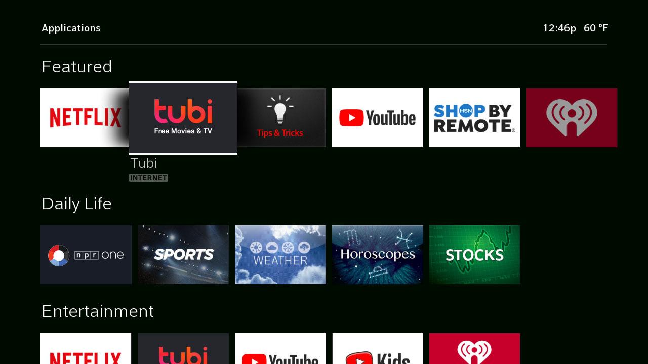 free movies tv shows